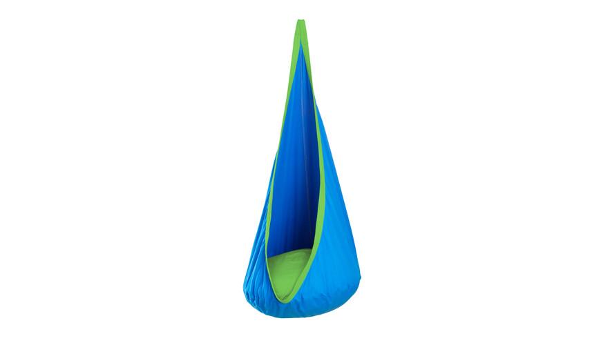 Silla colgante La Siesta Joki verde/azul